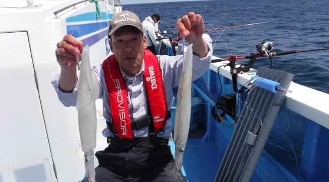 ヤリイカ船・午前テンヤ真鯛船
