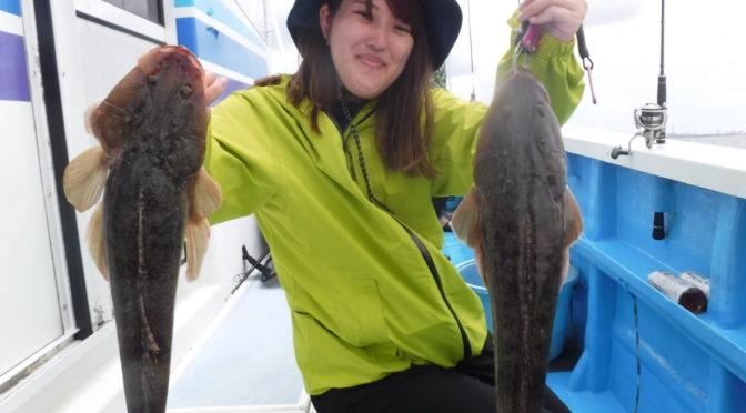 マゴチ船で大鯛5.8キロ